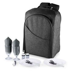 Picnic Time PT Colorado Picnic Cooler Backpack Gray - 531-20-105-000-0, PCN802-1