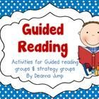 Guided Reading 101: Printables, Strategies and Word Work by Deanna Jump - kindergarten, First Grade
