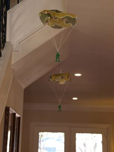 Love this idea for decorating (toy story party)