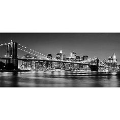 Bring the city skyline to your party with our Black and White New York Skyline Backdrop. The New York Skyline comes in a variety of sizes to fit any wall you need to cover.