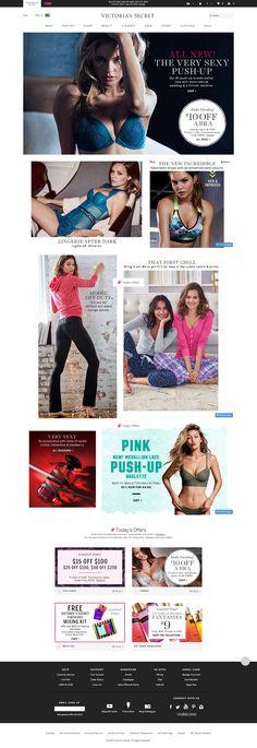 Victoria's Secret | ecommerce design | fashion ecommerce | fashion design | e-commerce | fashion | design inspiration | ecommerce showcase | ecommerce inspiration