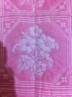 çiçekli dantel seccade örneği