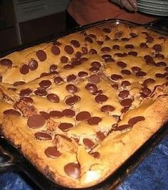 Paula Dean's Ooey Gooey Chocolate Chip Cake. Photo by Chef #1801312864