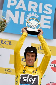 Richie Porte wins final stage time trial to take Paris-Nice overall - Cycling Weekly Cycling News, Pro Cycling, Cycling Equipment, Cycling Magazine, Geraint Thomas, Cycling Weekly, Paris Nice, Bike Reviews, Racing Team