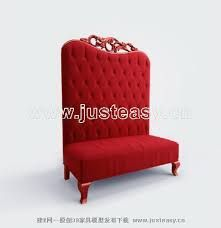 Image result for big red chair