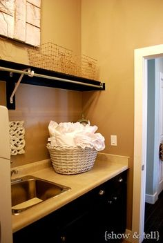 Like the hanging bar for the laundry room!