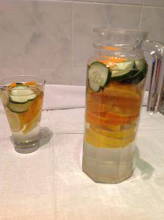 My Casual Brunch:   Acabei de preparar a minha água detox para amanh...
