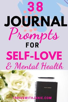 Journaling is a powerful way to practice self love. Through daily journaling, you empower yourself to see patterns, to have clarity, reflect and appreciate, move on and find peace. Here are prompts to healp you with journaling and improve mental health. Mental Health Journal, Mental Health Care, Improve Mental Health, Writing About Yourself, Learning To Love Yourself, Journal Prompts, Journal Ideas, Healthy Sleep, Mental Health Issues