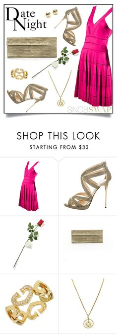 """""""Date Night"""" by snobswap ❤ liked on Polyvore featuring Christian Dior, Jimmy Choo, Hanky Panky, Nancy Gonzalez, Chanel and Tiffany & Co."""
