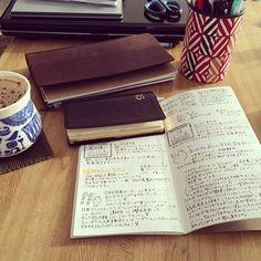 #travelersnote #トラベラーズノート #能率手帳 #能率手帳ゴールド #k4_log