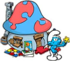 smurfs village - Bing images