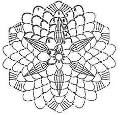 klikni pro další - Her Crochet Crochet Wool, Crochet Art, Crochet Round, Thread Crochet, Crochet Doilies, Crochet Snowflake Pattern, Crochet Motif Patterns, Crochet Snowflakes, Crochet Shawl Diagram