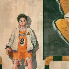Basketball boy & girl - Kim Jungyoun