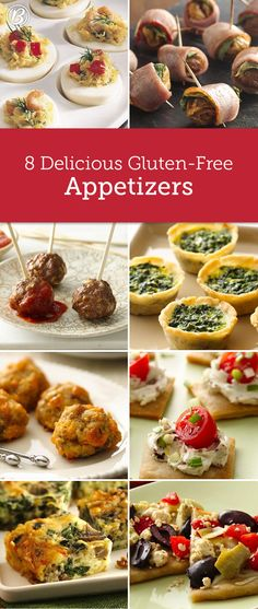 We've made eight of our classic, top-rated appetizers gluten-free so everyone can enjoy!