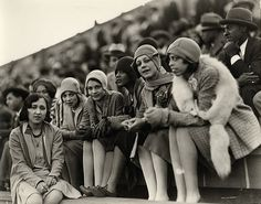 Howard University students looking elegant at a football game more than 80 years ago. One of the many things I love about Howard University, the rich history of dignity and grace.