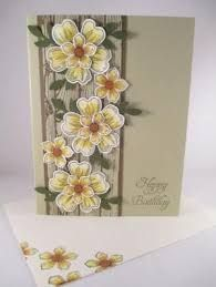 """Stampin Up """"Flower Shop"""" Handmade Happy Birthday Card in Crafts, Handcrafted & F. - Stampin Up """"Flower Shop"""" Handmade Happy Birthday Card in Crafts, Handcrafted & Finished Pieces, - Making Greeting Cards, Greeting Cards Handmade, Happy Birthday Handmade Cards, Stampin Up, Birthday Cards For Women, Flower Patch, Stamping Up Cards, Pretty Cards, Flower Cards"""