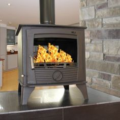 Double Sided Stove, Multi Fuel Stove, Stove Fireplace, Stoves, Fireplaces, Home And Garden, Home Appliances, Wood, Fireplace Set