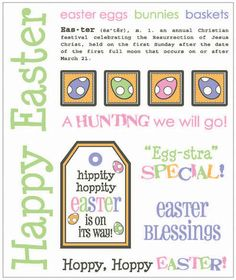 Easter Gift Set by Lesley Hoppy Easter, Easter Gift, Easter Crafts, Easter Bunny, Easter Eggs, Easter Quotes, Easter Sayings, Resurrection Day, Easter Egg Basket