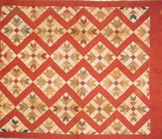 Pieced Quilt, 1880. Made by a member of the Strickler-Graves families. Madison Co, Virginia.