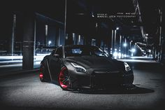 Liberty Walk R35 GT-R render (by Marcel Lech)