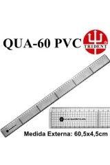 RÉGUA PARA CORTE E COSTURA REF:QUA-60 PVC
