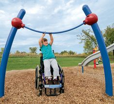 accessible playground equipment.  >>> See it. Believe it. Do it. Watch thousands of spinal cord injury videos at SPINALpedia.com