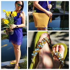 Summer lace and Tote bag