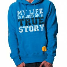 Based on a true story hoodie #hoodies #Fashion Storymood  MY LIFE IS BASED ON A TRUE STORY men's pullover hooded sweatshirt  80% Combed Cotton 20% Polyester 320g / 9.6oz. Fashion Story, New Fashion, Hooded Sweatshirts, Hoodies, True Stories, Gifts For Him, Graphic Sweatshirt, Pullover, Stylish