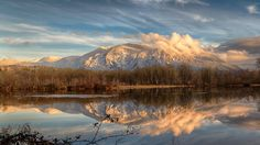 Sunset over Mt. Si as seen from Snoqualmie WA. [OC] [4000  2250] #reddit