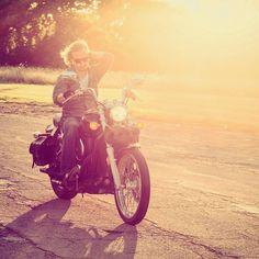 @Nevin_Ray killing it during our pop up shoot. #hairfix #nofucksgiven #summer #afternoon #bike #ride #motorcycle #grungy #sunset #belleisle #detroit #detroitmodel #kawasaki #Canon #editorial #photography