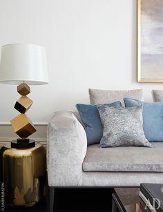 Работа дизайнера Ольги Эшби: фото интерьеров квартиры в Лондоне | AD Magazine