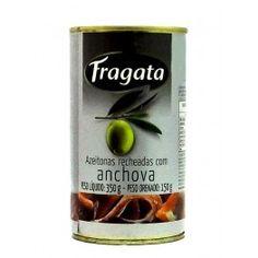 Azeitonas Recheada com Anchova Fragata (350gr)
