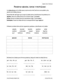 Spanish Teaching Resources, English Activities, Spanish Lessons, Spanish Grammar, World Languages, Spanish Classroom, Home Schooling, Interactive Notebooks, Phonics