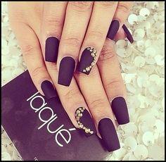 Nails #Laqué #Black
