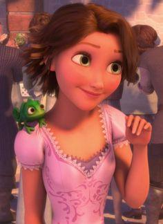 Image result for rapunzel short hair