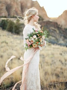 Ethereal Water Inspired Wedding Ideas | Connie Whitlock Photography