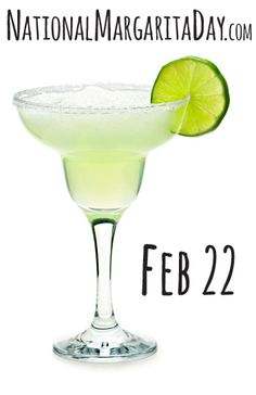 National Margarita Day --- uh oh, Tequila