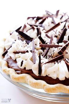 If you love chocolate pie, you are going to love this French Silk Pie recipe! It's a classic!