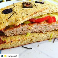 Look at this icredible@readers recipe results. #Repost @twopeas2 with @repostapp.  Late lunch using up the fresh salmon that didn't get eaten yesterday. Served up the salmon patties on @ditchthecarbs foccacia topped with @skinnymixer Mayo made with avocado oil and with extra mustard  #mykitchenrules #food #lowcarb #easter #foodporn #homemade #hungry #lunch #mkr #foodofinstagram #ditchthecarbs #skinnymixers #eat by ditchthecarbs