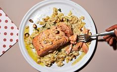 You're not going to believe how quickly you can make this amazing salmon and orzo dinner.