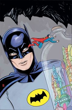 DC Celebrates Batman's 75th Anniversary With Mike Allred's 'Batman 66′ Inspired Variant Covers