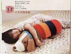 Perrito para abrazar Amigurumi