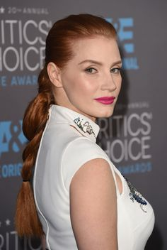 You'll Love Jessica Chastain's Braided Ponytail, And How Easy It Is To Copy