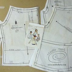 We'll get them to fit! Fitting Commercial Patterns THURS 6 Oct http://www.studiofaro.com/book-introductory-workshops #sydney #PatternMakingClasses
