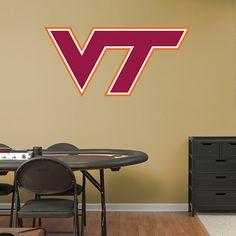 Official NCAA licensed Virginia Tech Hokies Embroidered Yard Pennant Flag NIP
