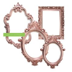 rose gold decor for a 13 year old Rose Gold Picture Frame, Shabby Chic Picture Frames, Picture Frame Sets, Rose Gold Room Decor, Rose Gold Rooms, Victorian Frame, Victorian Gold, Baroque, Rose Gold Pictures