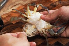 How to Clean Soft-Shell Crabs | Serious Eats Every Restaurant that serves Soft Crabs should be required to read this!!