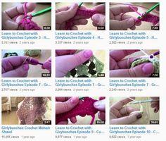 Learn to crochet video series
