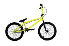 2015 Colony Emerge Complete BMX Bike Yellow