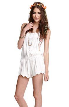 d503a820a4c Eyelet Romper  breezy  summer  pacsun Cute Beach Outfits